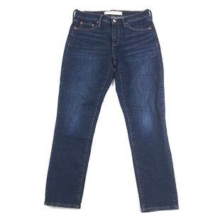 Gap Best Girlfriend Jeans Sz 26 Medium Indigo